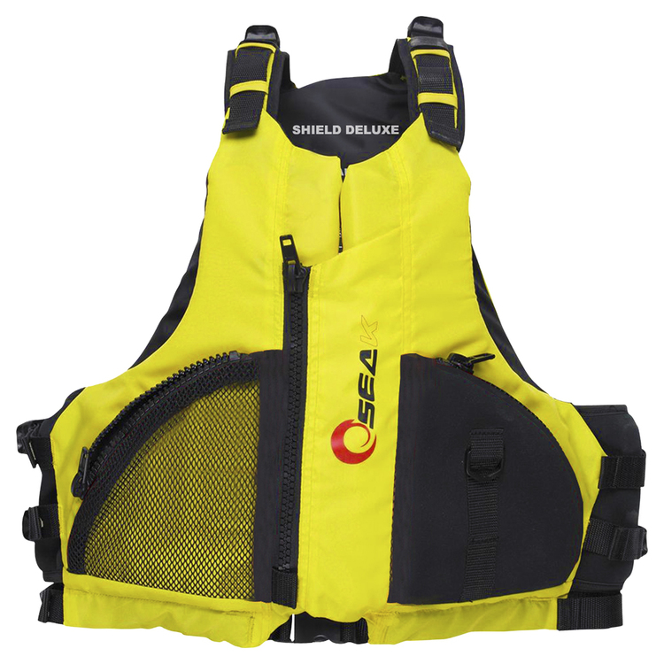 Seak Shield Deluxe PFD Yellow