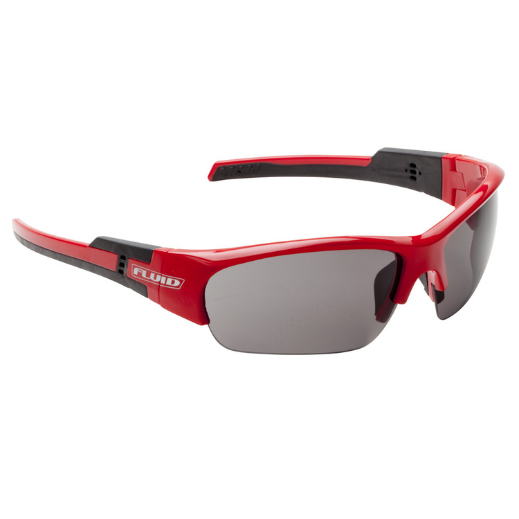 Fluid Evolve Cycling Sunglasses Red