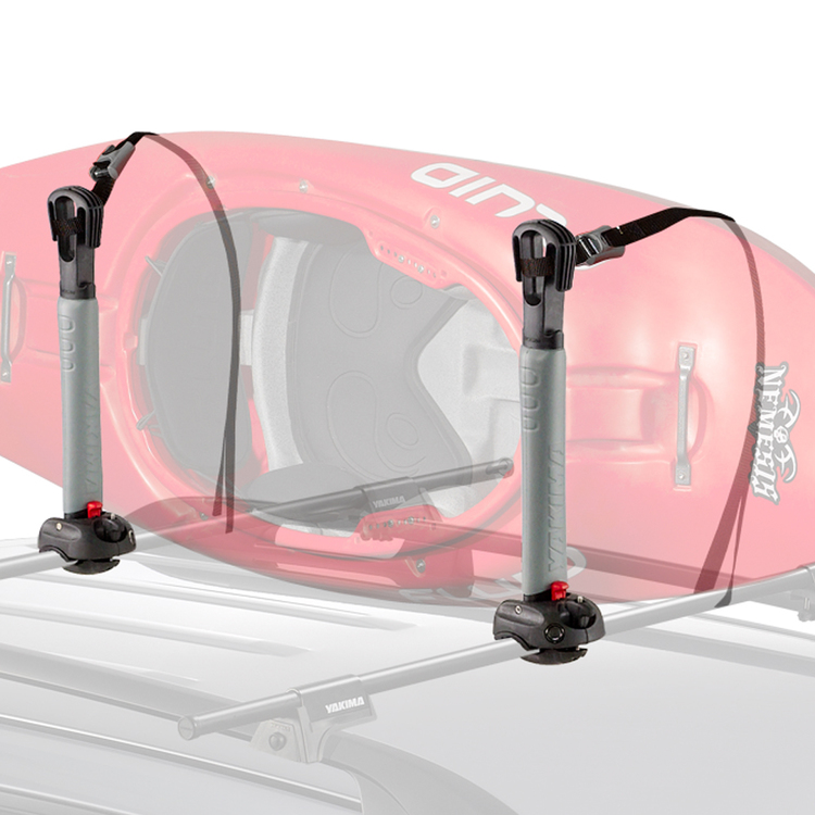 Yakima Bigstack Roof Watersports Rack Black