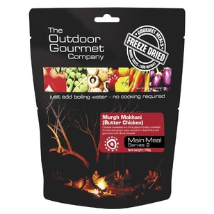 The Outdoor Gourmet Company Butter Chiken  Double Serve
