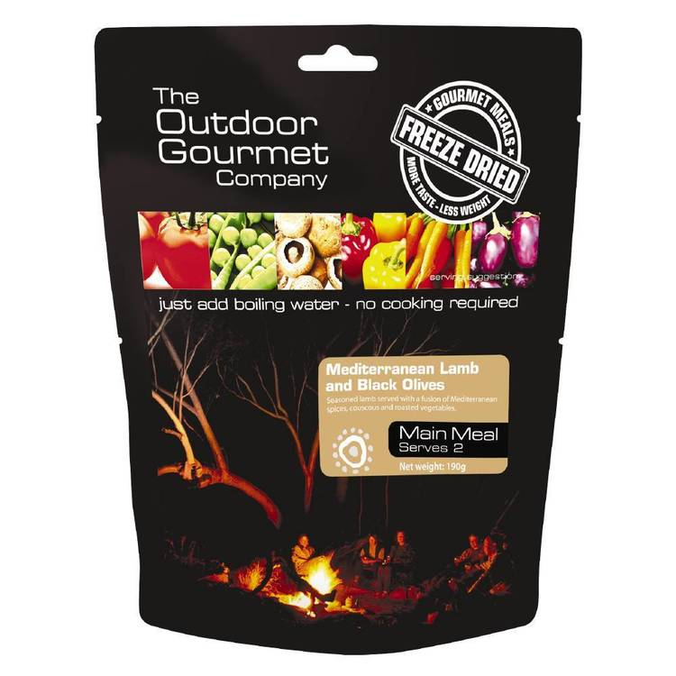 The Outdoor Gourmet Company Lamb with Black Olives