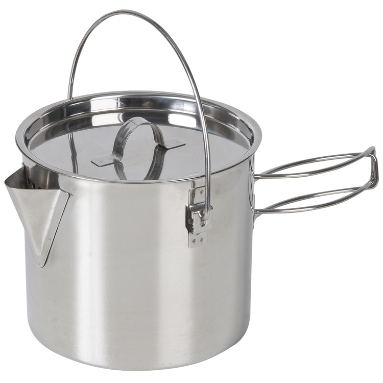 Campfire Stainless Steel Billy Style Kettle 750 mL