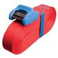 Sea To Summit Heavy Duty Tie Down With Silicone Cam Cover Red & Blue 5.5 m
