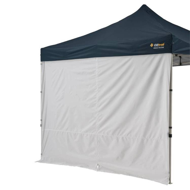 Oztrail Gazebo Solid Wall Centre Zip 3 Metre