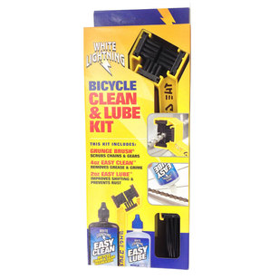 White Lightning Chain Clean & Lube Kit