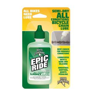 White Lightning Epic Ride 2 Oz Squeeze Bottle