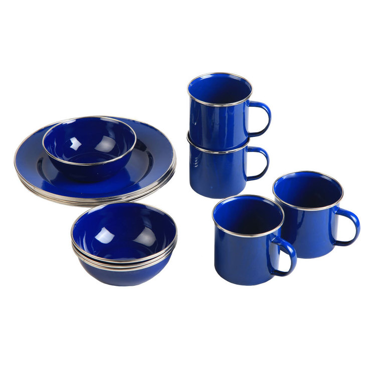 Spinifex Enamel Dinner Set
