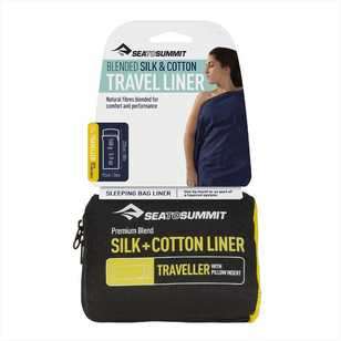 Sea to Summit Silk & Cotton Traveller Liner