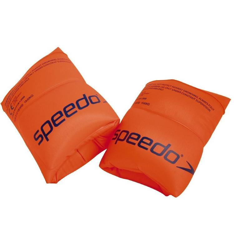 Speedo Roll Up Arm Bands Orange