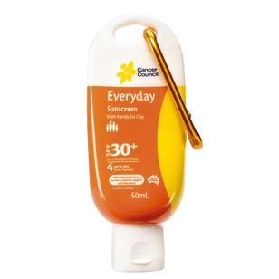 Cancer Council Eziclip Everyday Suncreen 50 mL