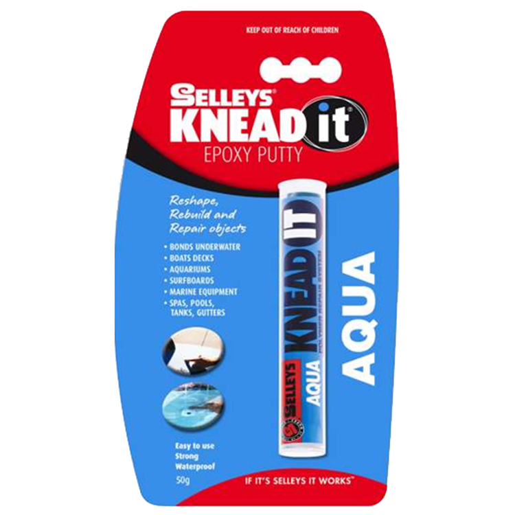 Selleys Knead It Aqua 50 g
