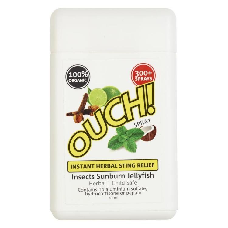 Ouch Organic Instant Herball Sting Relief Spray