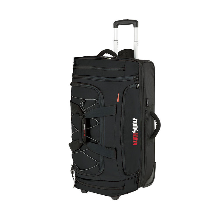BlackWolf Bladerunner 60 + 20L Rolling Bag Black