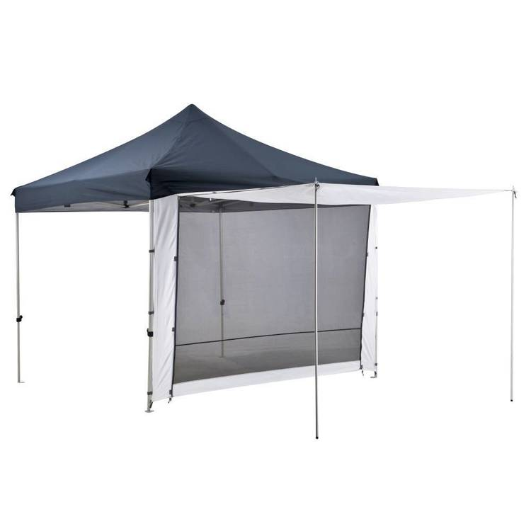 Oztrail Gazebo 2 Zip Door Wall 3 Metre