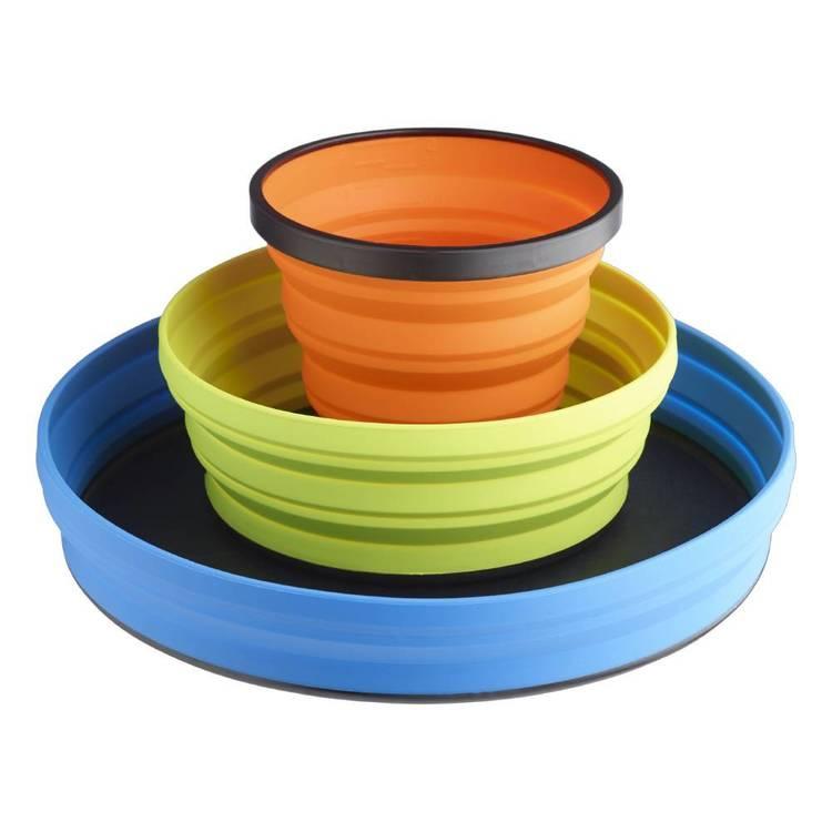 Sea to Summit 3 Piece Plate Bowl & Mug Set