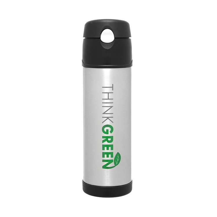 Thermos® 530mL Think Green Vacuum Insulated Hydration Bottle