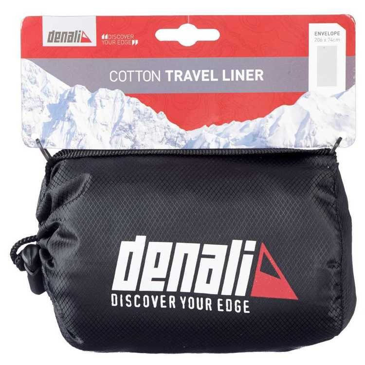 Denali Travel Liner - Envelope White