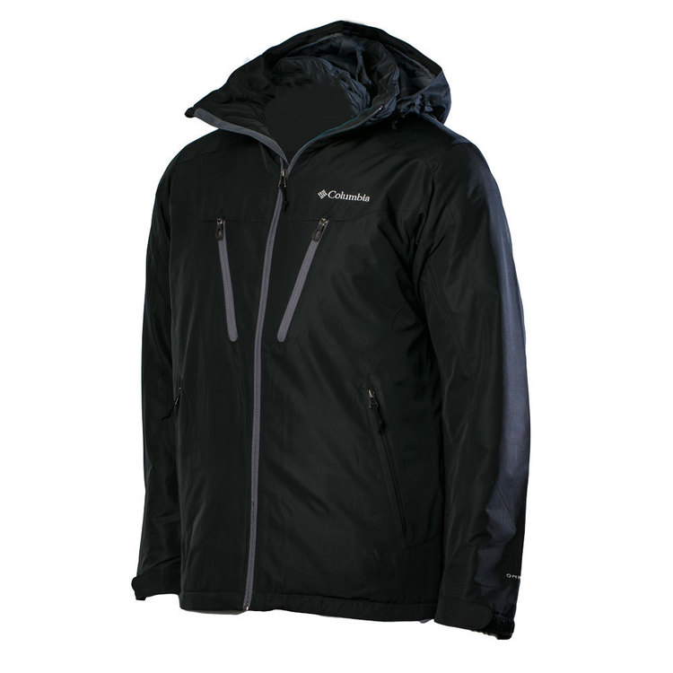 Columbia Men's Hooded Antimony IV Jacket Black XX Large