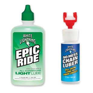 White Lightning Bicycle Chain Lube Kit