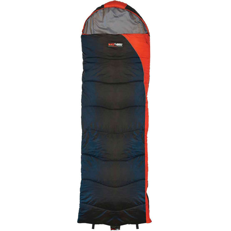 BlackWolf Sandon Hooded Sleeping Bag