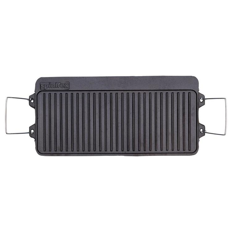 Spinifex Cast Iron 3 Burner BBQ Plate