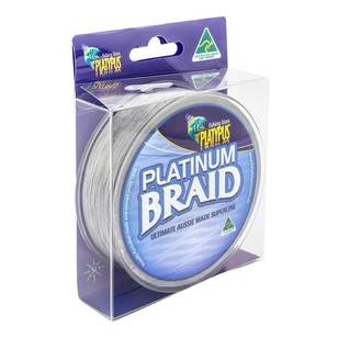 Platypus Platinum Braid 125Yd Braid Line
