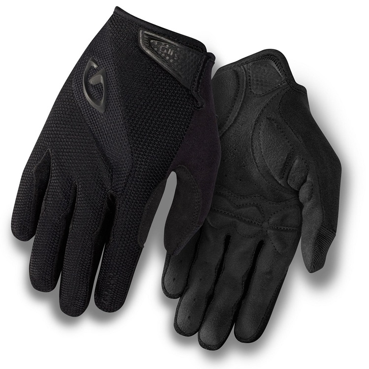 Giro Adult's Bravo Full Fingered Cycling Gloves Black
