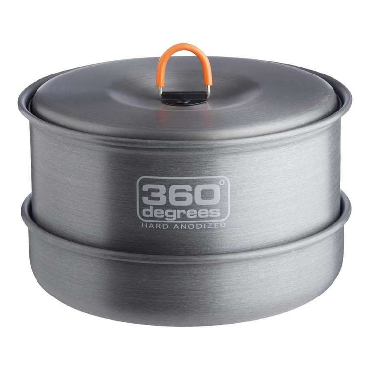360 Degrees Furno Large Cook Set Silver