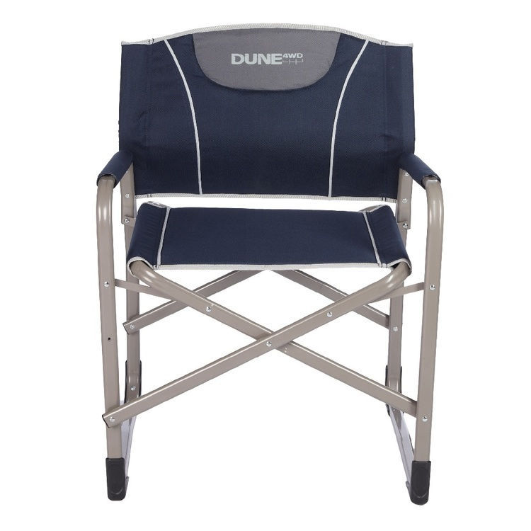 Dune Directors Chair With Lumbar Support Navy
