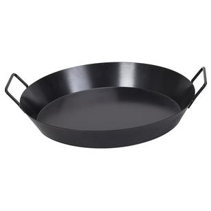 Campfire Non Stick Spun Steel Bush Pan 40 cm