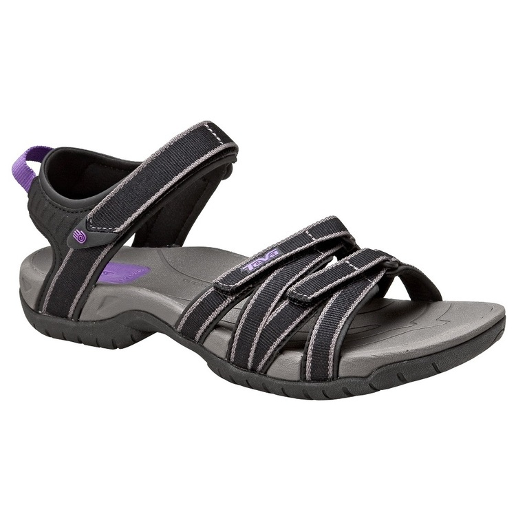 Teva Women's Tirra Sandals Black & Grey