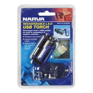 Narva Rechargable LED USB Torch
