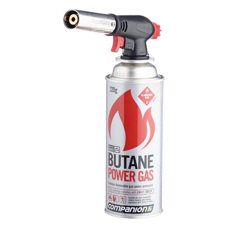 Trade Flame Torch & Butane Kit