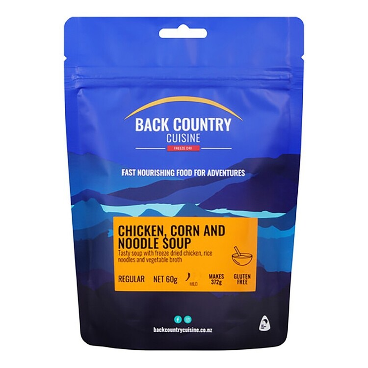 Back Country Chicken Corn & Noodle Soup Small