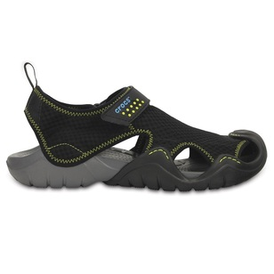 Crocs Men's Swiftwater Leather Sandals