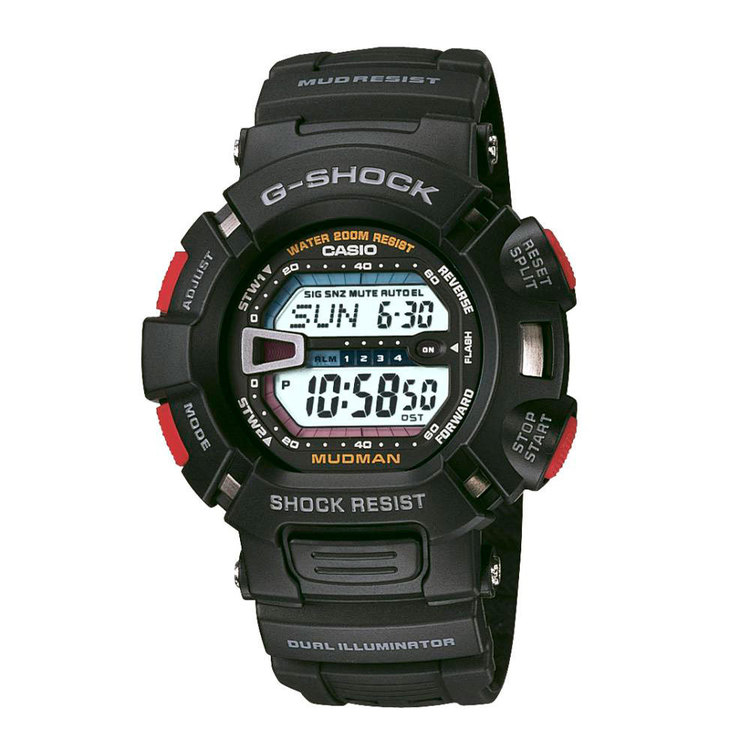 Casio G-Shock G9000 Mudman Watch Black One Size Fits Most