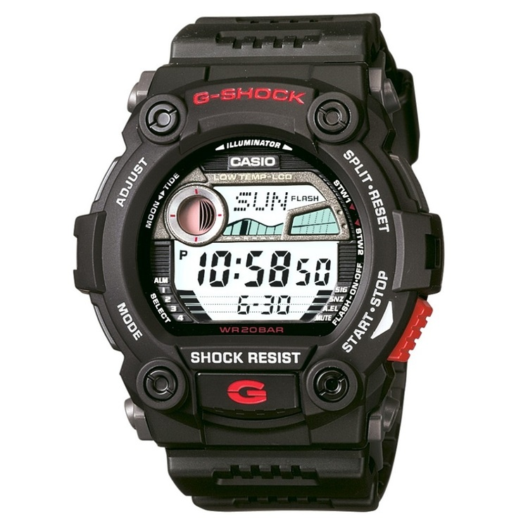 Casio G-Shock G7900 Tide Watch Black