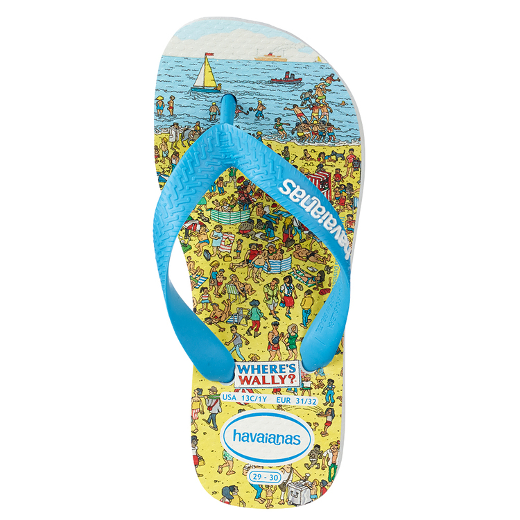 Havaianas Kid's Where's Wally Thongs Multicoloured