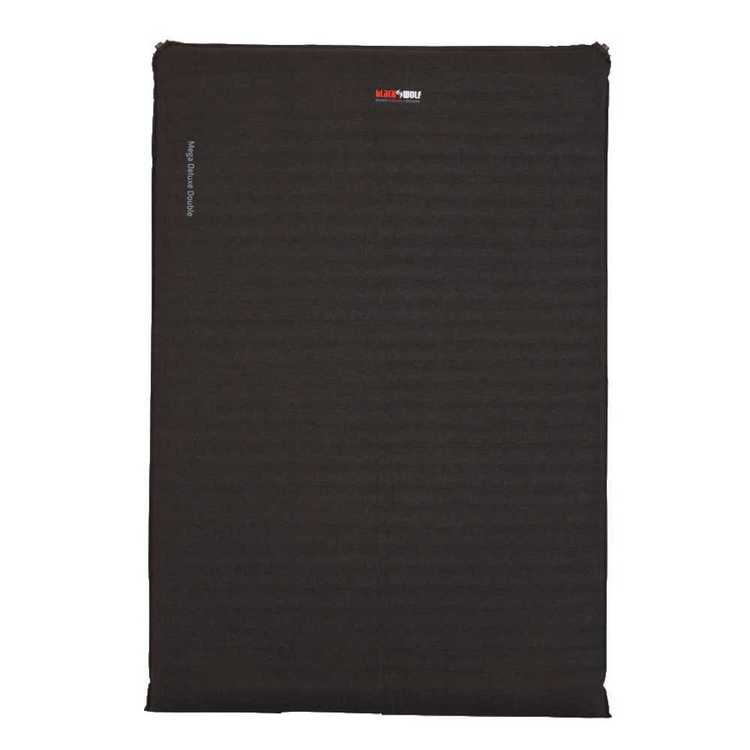 BlackWolf Mega Deluxe Double Mat Charcoal