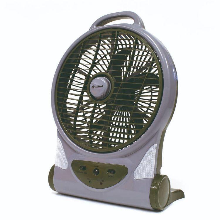 Oztrail 12V/240V Rechargeable Fan