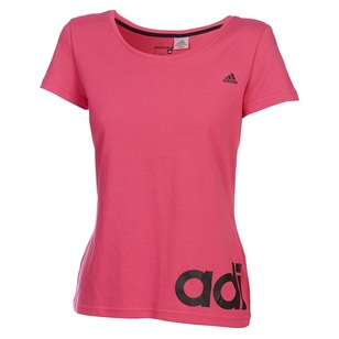 adidas Women's Essential Linear Tee