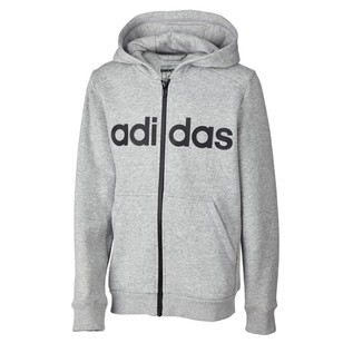 adidas Boy's Essentials Linear Full Zip Hoody
