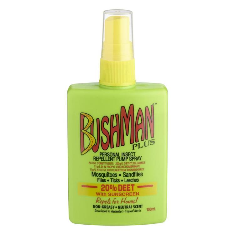 Bushmans Pump Spray With Sunscreen