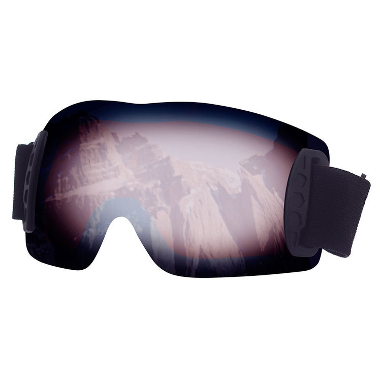 37 Degrees South Men's Frameless Goggles Black One Size Fits Most