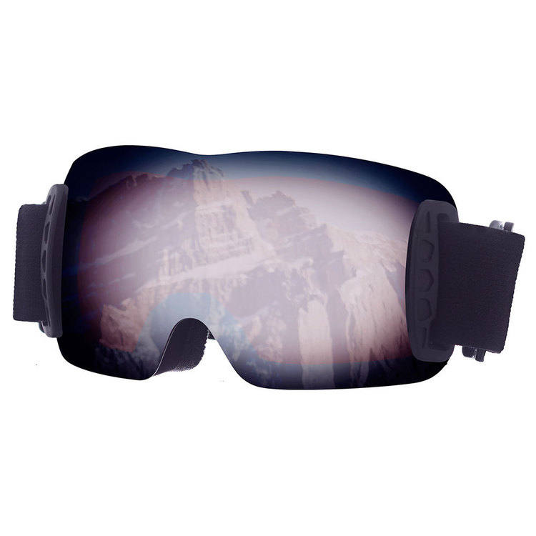 37 Degrees South Kid's Frameless Goggles Black One Size Fits Most