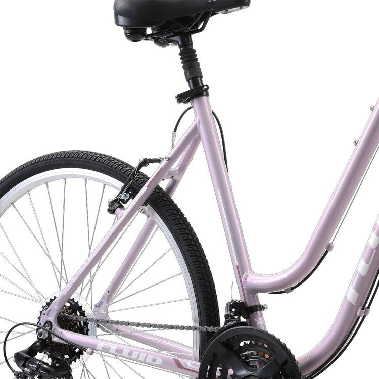 Fluid Expedition Women's Comfort Bike Cool Silver