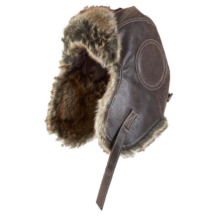 XTM Men's Leather Bomber Hat
