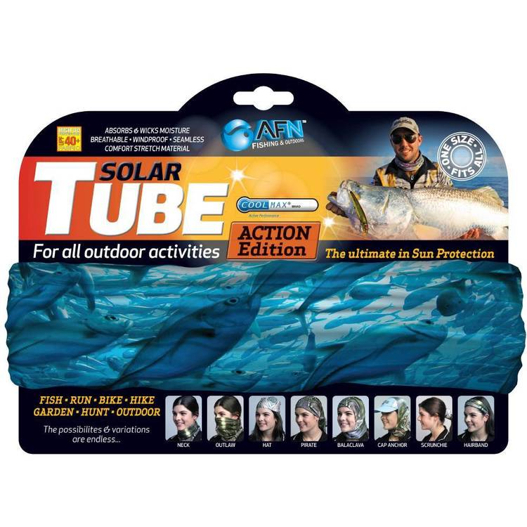 Australian Fishing Network Blue Bait Ball Solar Tube