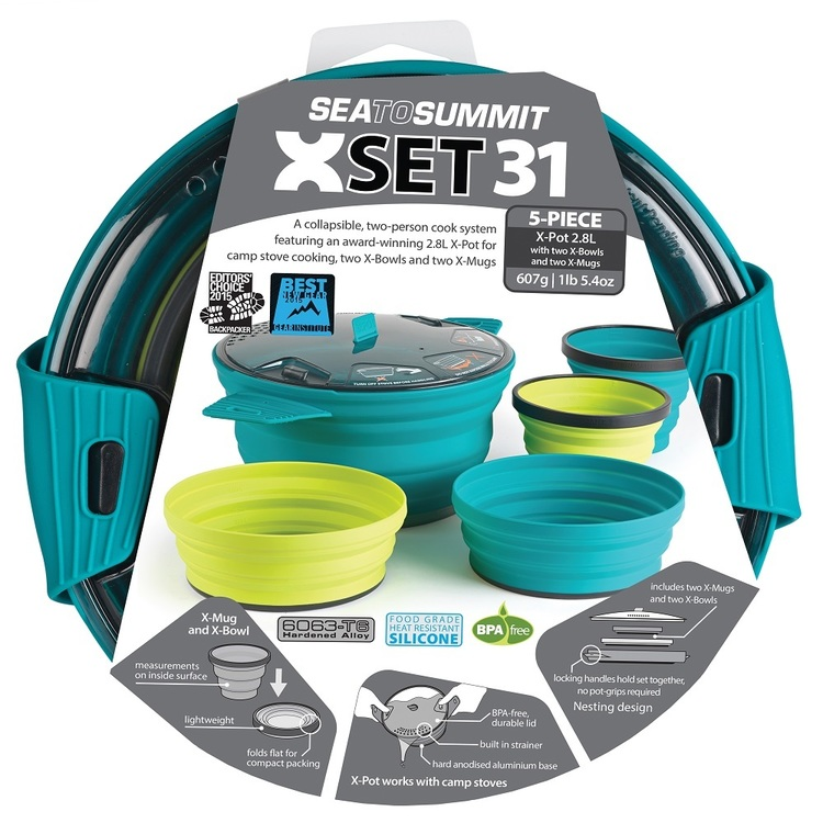 Sea To Summit X Set 31 - 5 Piece Set