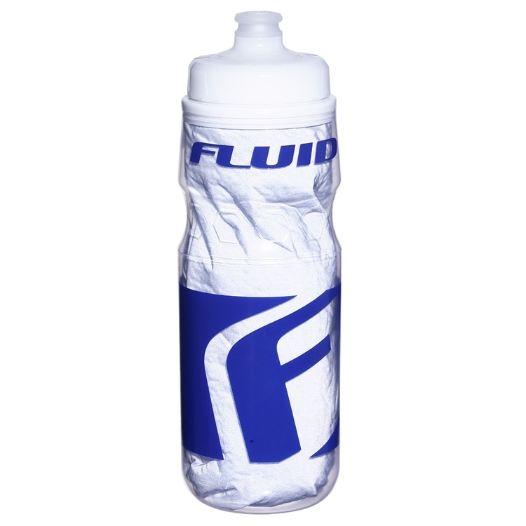Fluid Reflective Flux Water Bottle Clear